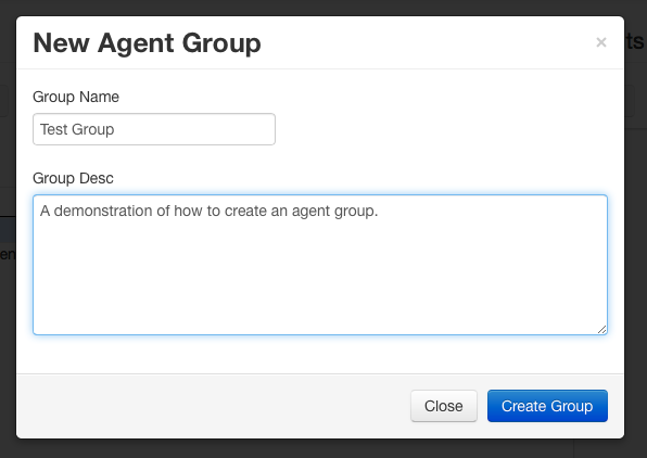 New Agent Group